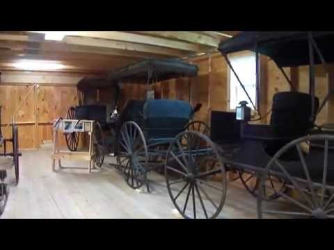 Carriages, Wagons, Sleighs Room At Union Fair Museum