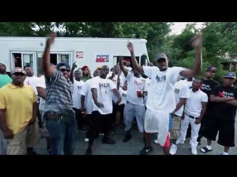 B FT CASINO(FREEBANDGANG) -  GUNLINE (OFFICIAL VIDEO 2013)