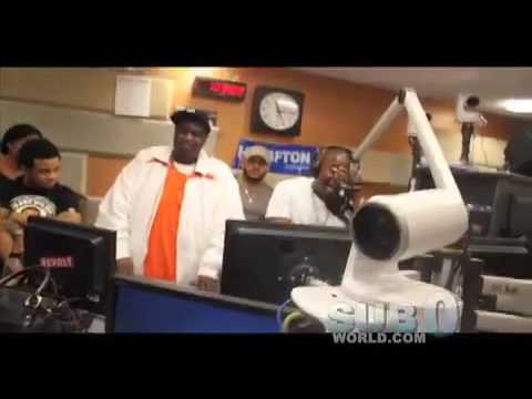 @Itsvain and His Video Vixens Invades Power 105.1