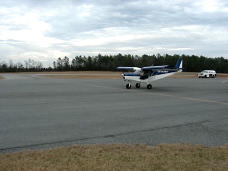 STOL 701 takeoff about 40 feet