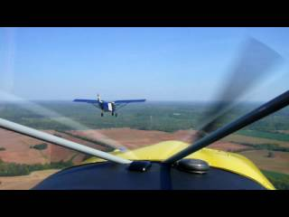 Flying the STOL CH 801 (viewed from the STOL CH750)