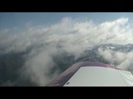 Flying In Northern California Mountains