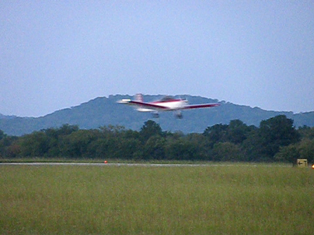 First flight - Landing