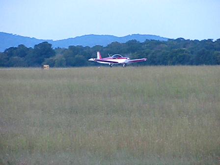 First flight - take off