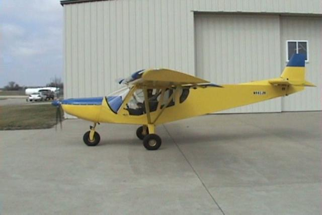 Al Stuber's STOL CH 750 powered by the Rotax 912S