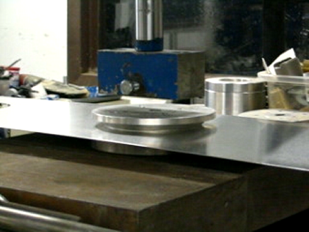 ch750 template routing spars & flanging spar lightning holes 017