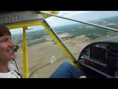 Flight in the STOL CH 750