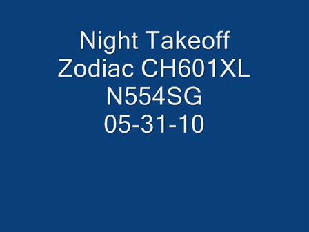 Night Takeoff 5-30-10