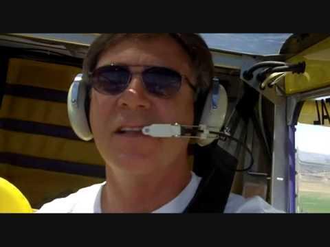 Flying my Zenith CH-701 over Laurel, Montana