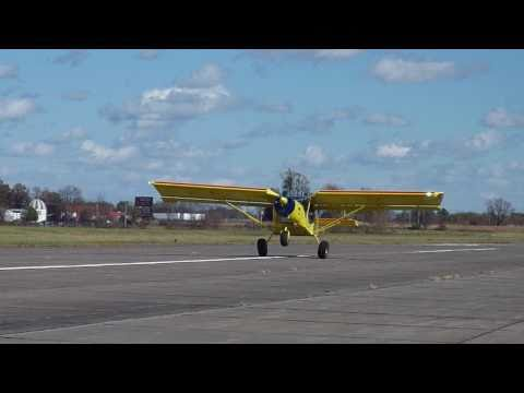 Impressive short take off and landing with the STOL CH 750