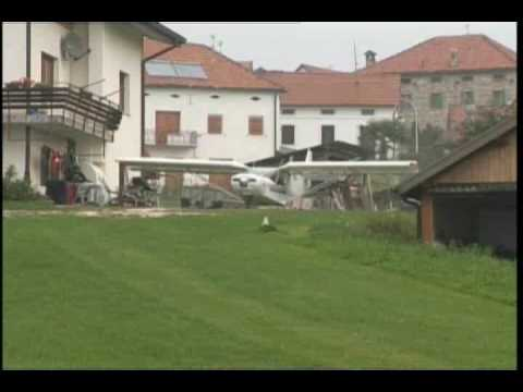 STOL CH 701 backyard grass field take off and landing