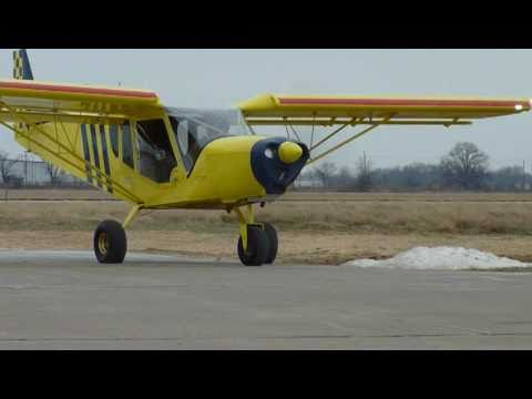 STOL CH 750: Testing New Tires, Part One