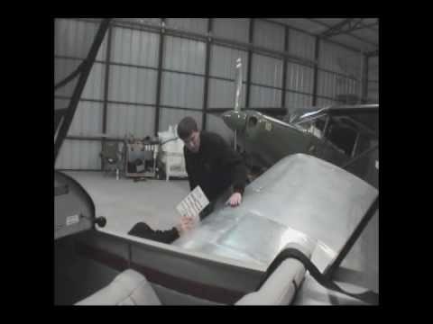 Pre-flight inspection before first flight
