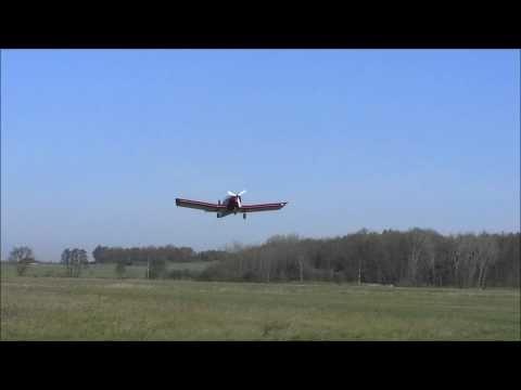 Zodiac CH-601 grass field take off