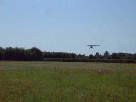 Ch 750 first landing