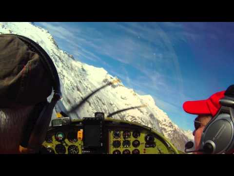 Flying the Zodiac over the Swiss Alps