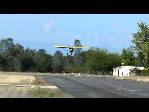 Demo Flights in Zenith 750 During Rancho Tehama Open House 10-16-2011