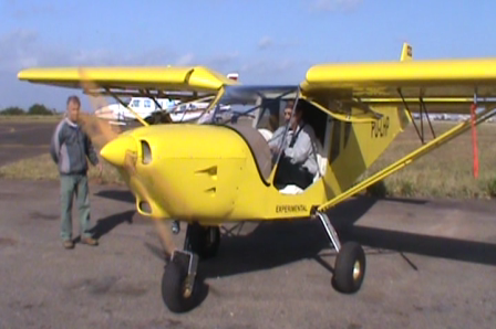 First Engine Start: Brazilian STOL CH 750