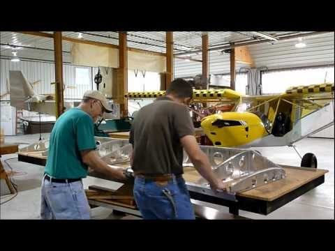 Wing Kit Assembly: Joining and riveting the internal kit parts together of the Zenith STOL CH 750