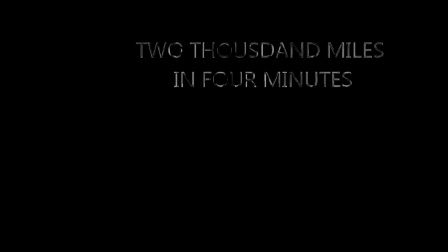 TWO THOUSAND MILES IN FOUR MINUTES
