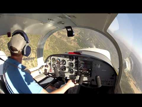 Training flight in the Zenith CH 2000 Alarus
