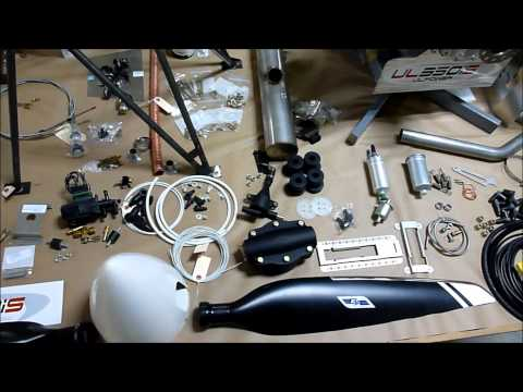 UL Power airplane engine: Firewall-forward powerplant package for the Zenith STOL CH 750 kit plane