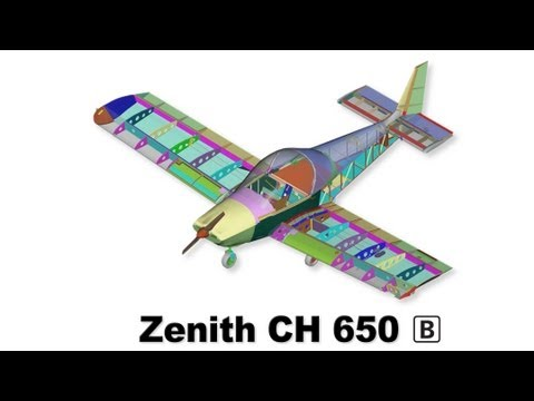 Zenith CH 650 Wing Kit: Overview of the aircraft wing assemby
