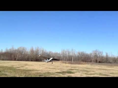 Zenith STOL first take-off, powered by Hirth F30 engine