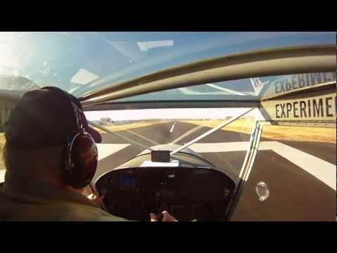 Phil flys takeoff  CH - 701