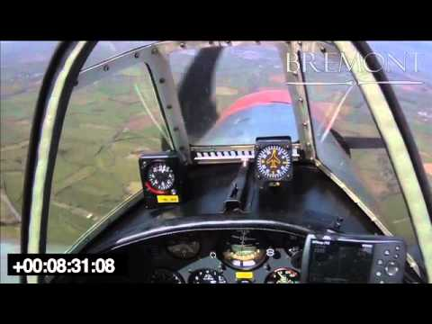 Mayday - Yakovlev Yak-50, Engine out forced landing video - www.AirCrashObserver.com