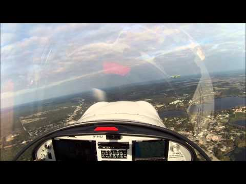 Flying back home from Sebring
