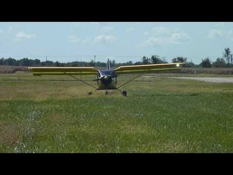 Short take off and landing in the STOL CH 750