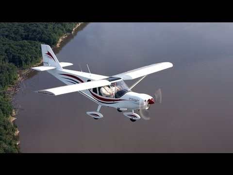 Flying the Zenith CH 750 Cruzer to AirVenture Oshkosh 2013