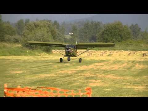 Zenith 701 Landing at Cascade Family Flyers