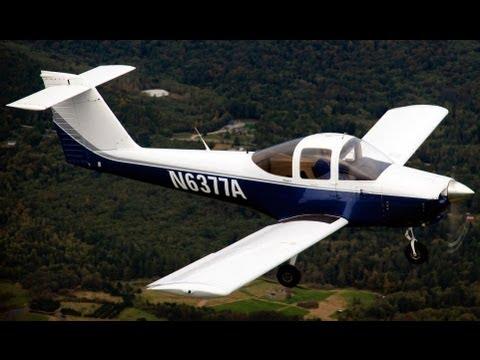 Piper Tomahawk Air to Air Photography Flight