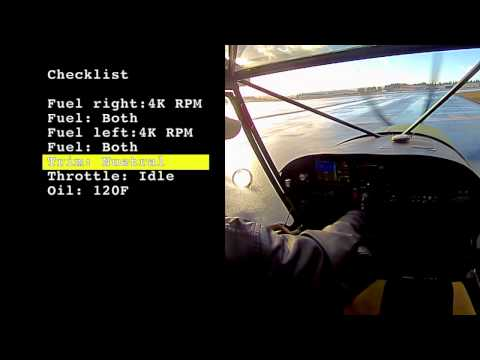In The Cockpit : Rotax Runup