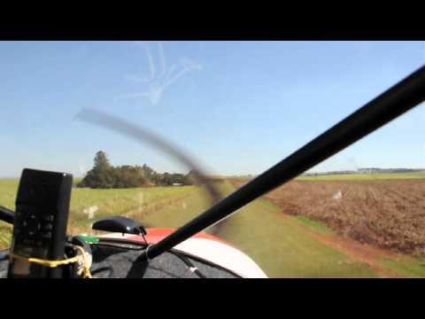 STOL CH 701 B. BONITA - SP / Cross-wind landing in Brazil   sugar cane plantation pit stop…Zenith…