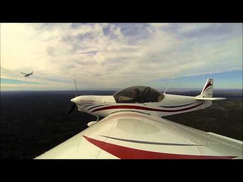 Flying to Sebring in the Zenith CH 650