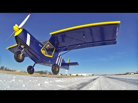 STOL Short Take-Off and Landing on snow