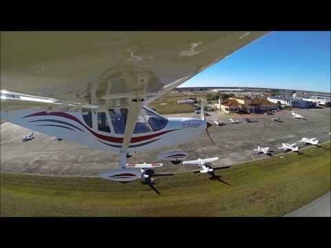 Zenith CH 750 Cruzer flying demonstration at the Sebring US Sport Aviation Expo