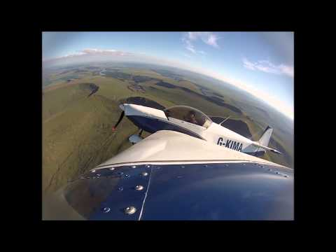 Flight over the Brecon Beacons