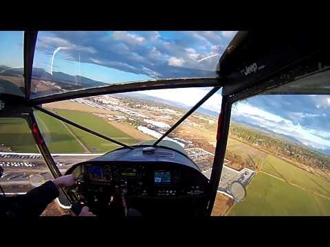 One Wheeled Crosswind Landing