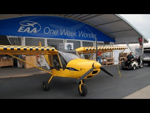 Preview of the One Week Wonder project tent at EAA Oshkosh AirVenture 2014
