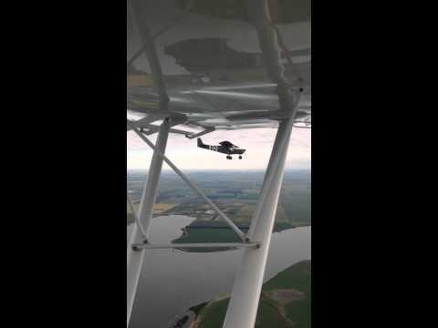 John Marzulli & I havin a blast in our Zenith Aircraft.