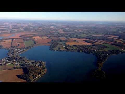 C-GYXQ Early Fall morning Flight over Port Perry