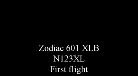 Zodiac 601XLB - First Flight