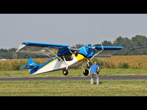 Short Take-Off and Landing Competition at the Zenith Open Hangar Day Fly-In