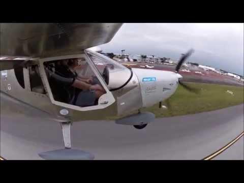 Flying EAA's One Week Wonder Zenith CH 750 Cruzer at Sebring
