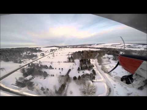 Winter Ski Flight