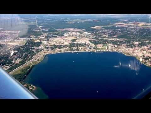 C-GYXQ To Kempenfest in Barrie. Kempenfelt Bay.